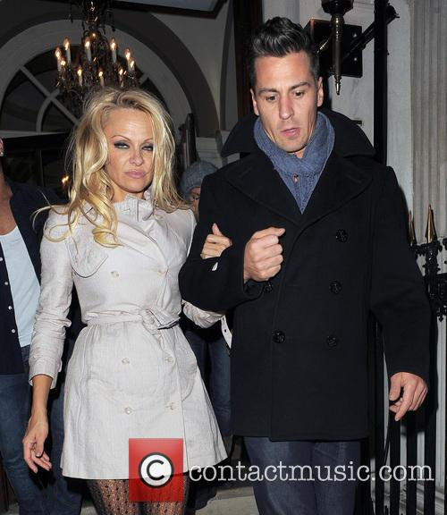 Pamela Anderson and Matt Evers 9