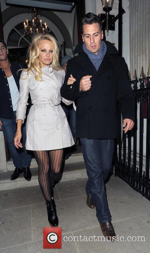Pamela Anderson and Matt Evers 14