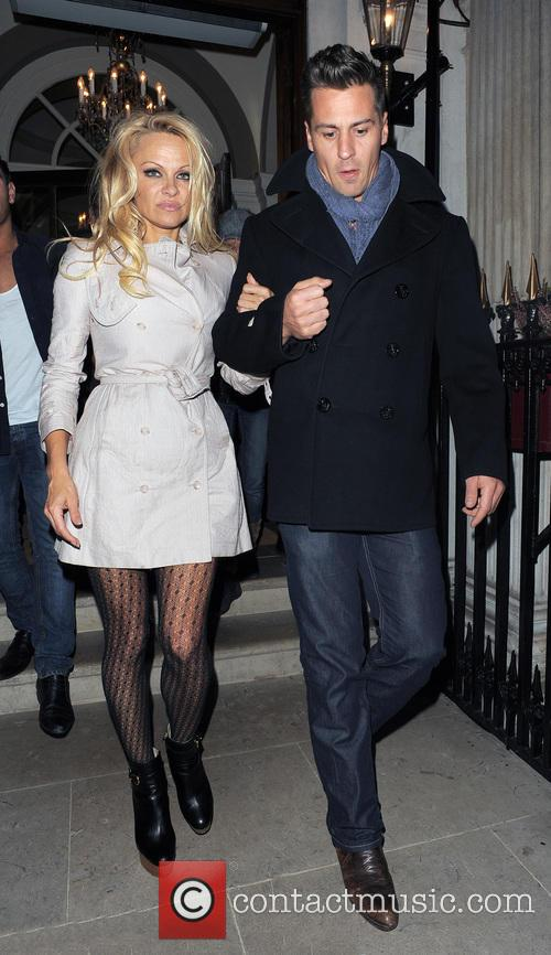 Pamela Anderson and Matt Evers 6