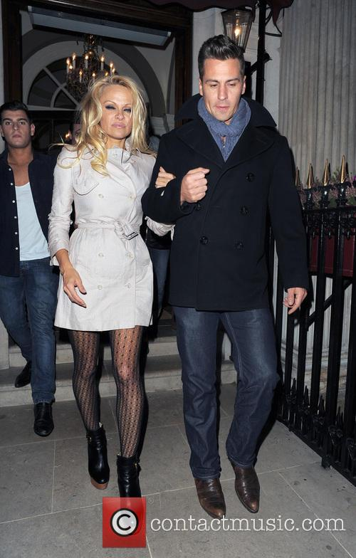 Pamela Anderson and Matt Evers 10