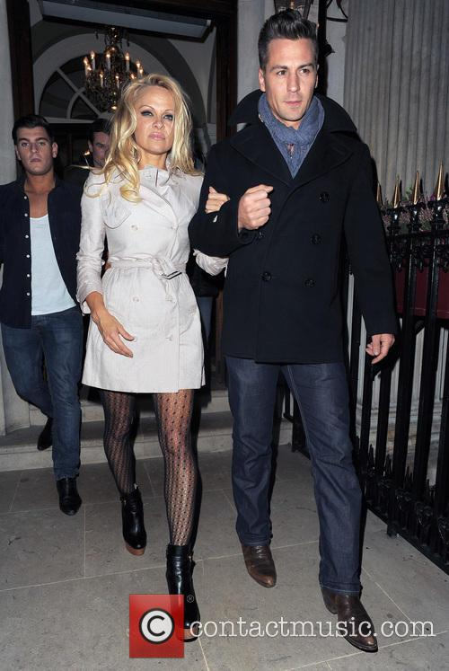 Pamela Anderson and Matt Evers 15