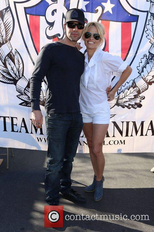 Criss Angel and Pamela Anderson