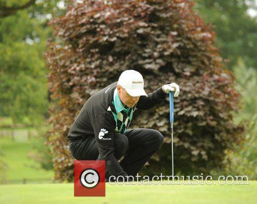 Gary Wolstenholme Farmfoods British Par Three Golf competition...