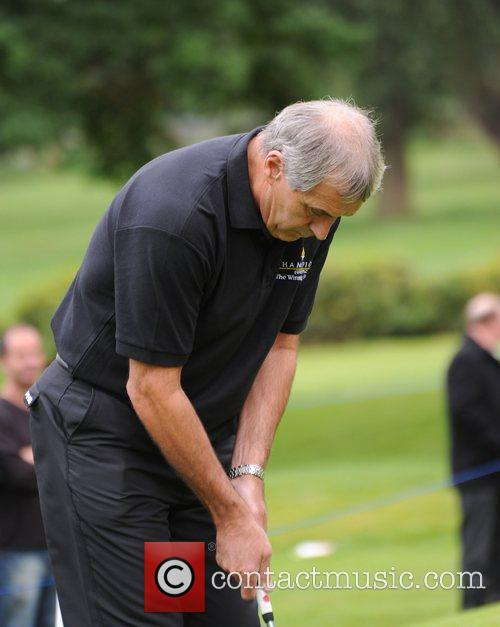 Peter Shilton Farmfoods British Par Three Golf competition...