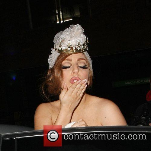 lady gaga celebrities leaving the arts club 4069120