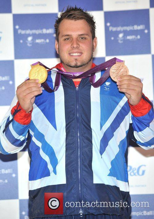 Aled Davis The Paralympic Ball held at the...