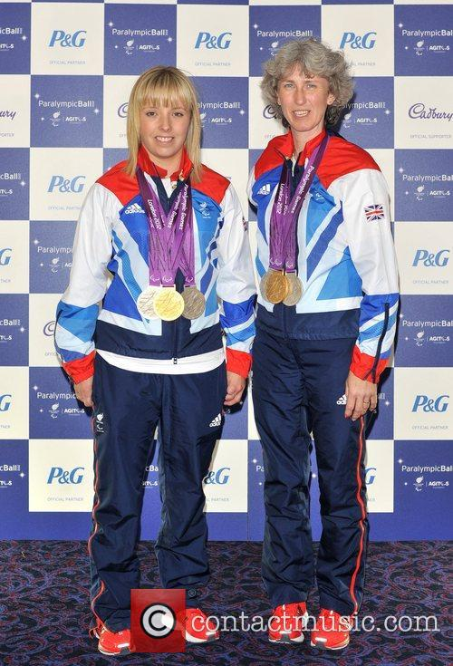 Deborah Criddle and Sophie Wells The Paralympic Ball...