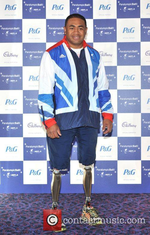 Derek Derenalagi The Paralympic Ball held at the...