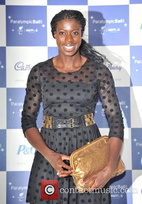 Christine Ohuruogu The Paralympic Ball held at the...