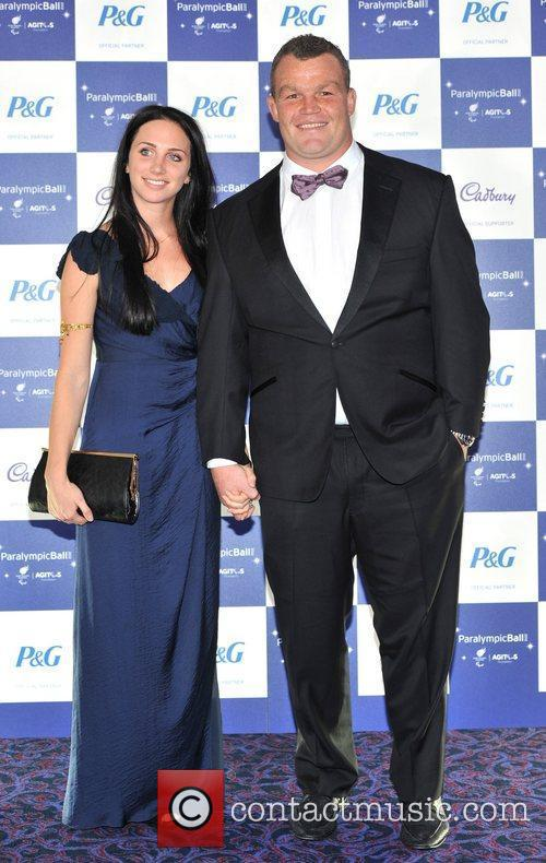 Matt Stevens and guest The Paralympic Ball held...