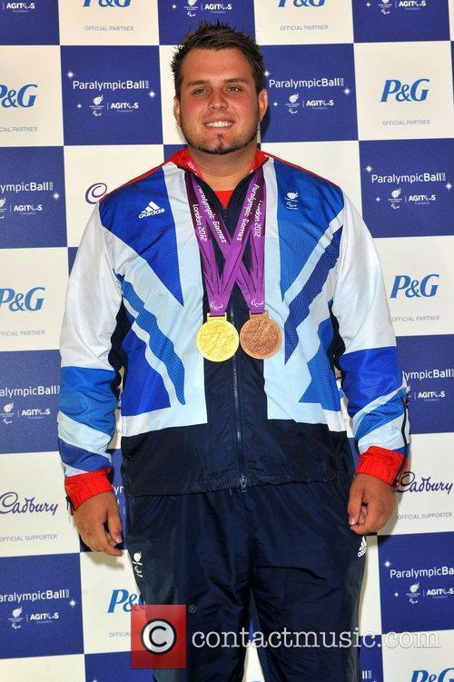 Aled Davies The Paralympic Ball held at the...