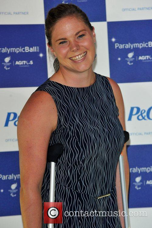 Stephanie Dixon The Paralympic Ball held at the...