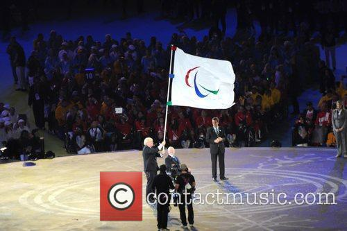 Closing Ceremony for the Paralympics held at the...