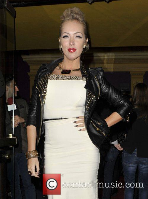Aisleyne Horgan-Wallace at the gala screening of Paranormal...