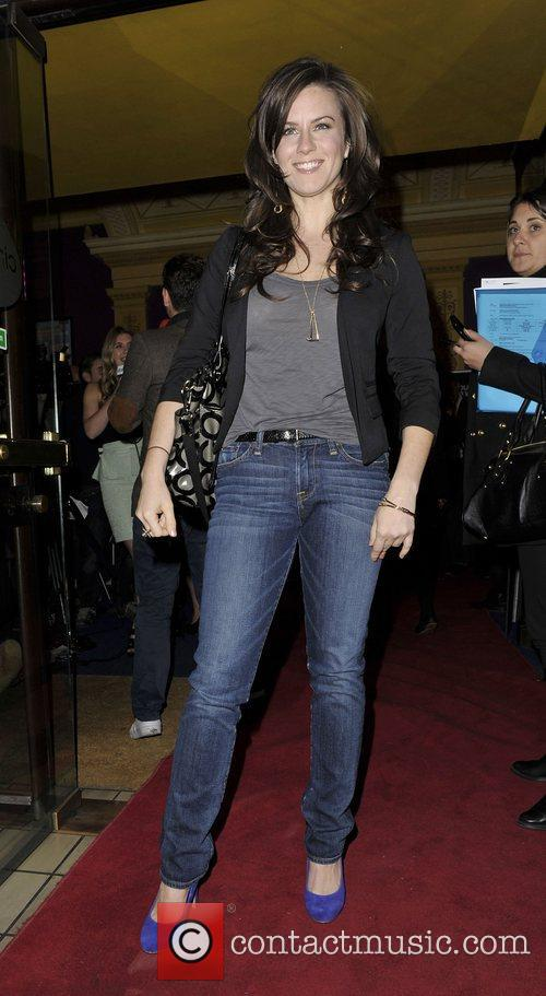 Katie Featherston Amercian actress at the gala screening...