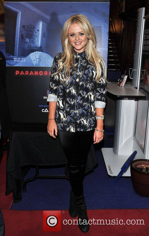 Emily Atack 'Paranormal Activity 4 Gala Screening' held...
