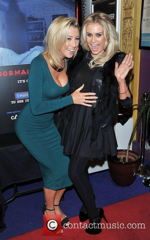 Guests 'Paranormal Activity 4 Gala Screening' held at...