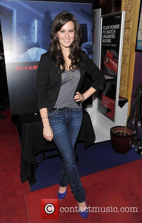 Katie Featherston 'Paranormal Activity 4 Gala Screening' held...