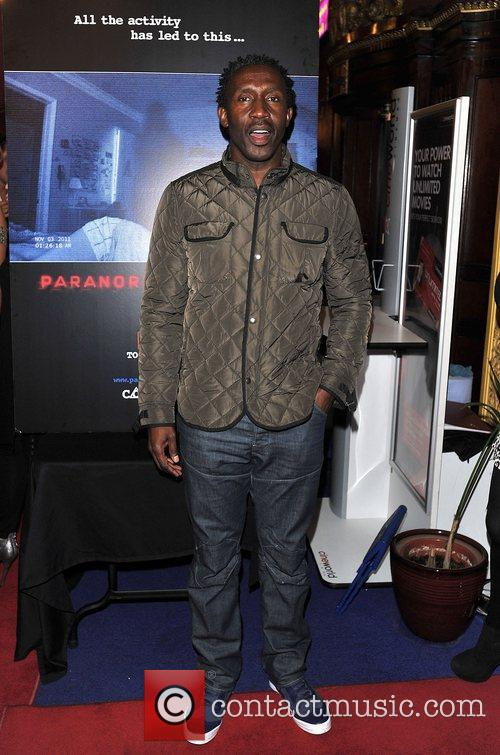 Linford Christie 'Paranormal Activity 4 Gala Screening' held...