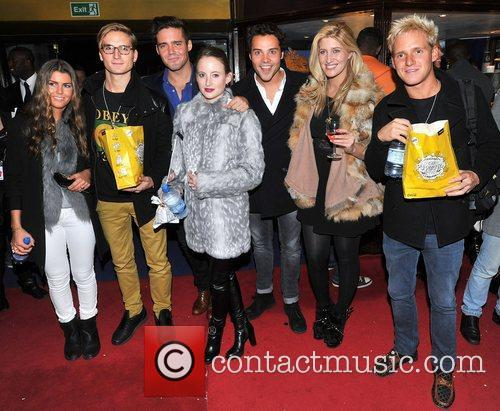 Ollie Proudlock, Spencer Matthews, Rosie Fortescue, Andy Jordan,...