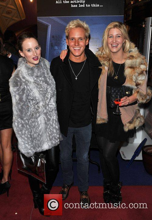 Rosie Fortescue, Jamie Laing, Ceska Hull 'Paranormal Activity...