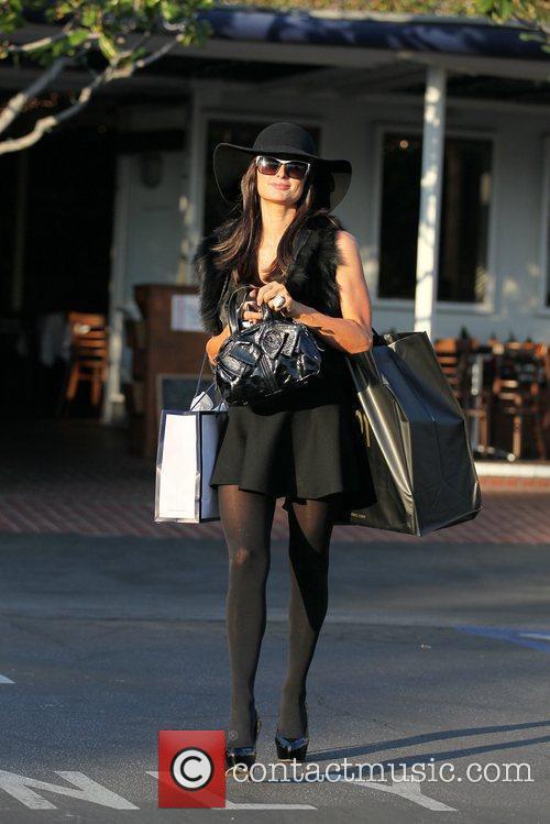 Paris Hilton shopping at Fred Segal and Maxfield