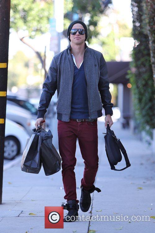 Paris Hilton's boyfriend River Viiperi  seen shopping...