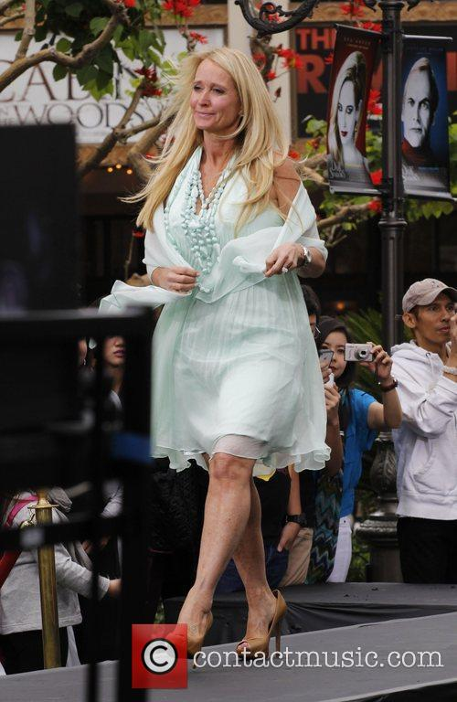 Kim Richards at The Grove to launch Kathy...