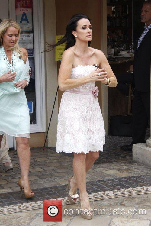 Kyle Richards at The Grove to launch Kathy...
