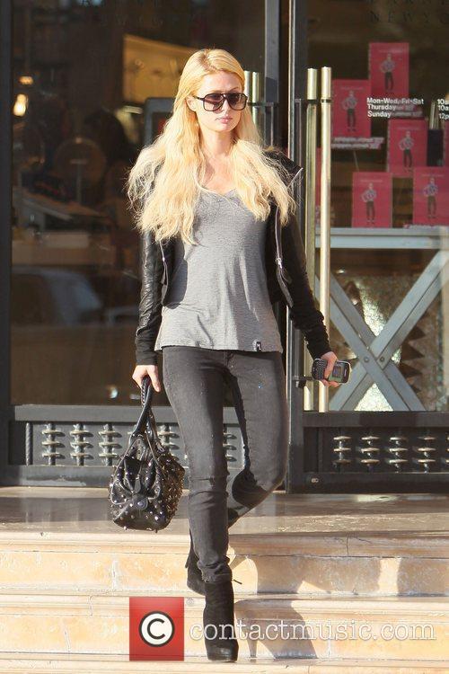 Paris Hilton leaves Barneys New York in Beverly...