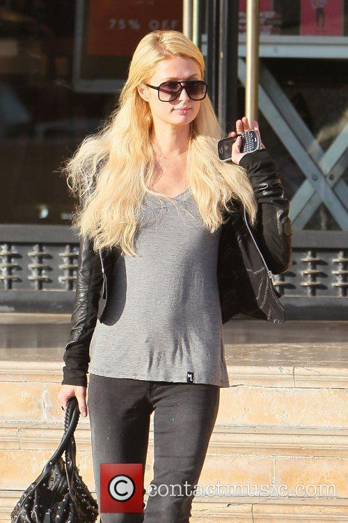 Paris Hilton leaves Barneys New York in Beverly...