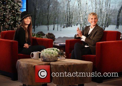 Paris Jackson appears on 'The Ellen DeGeneres Show'...