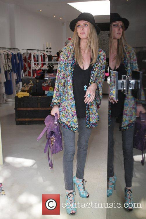 Nicky Hilton  seen shopping with friends at...