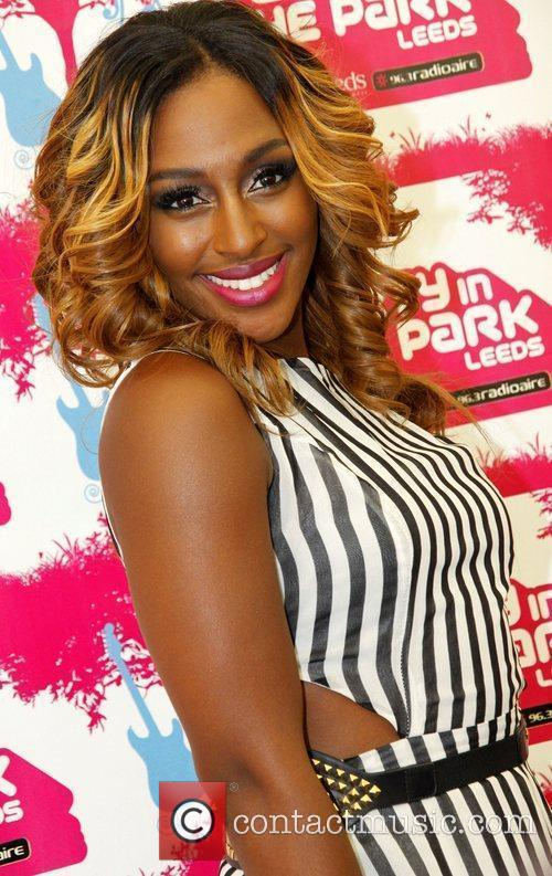 Alexandra Burke Party in the Park 2012 at...