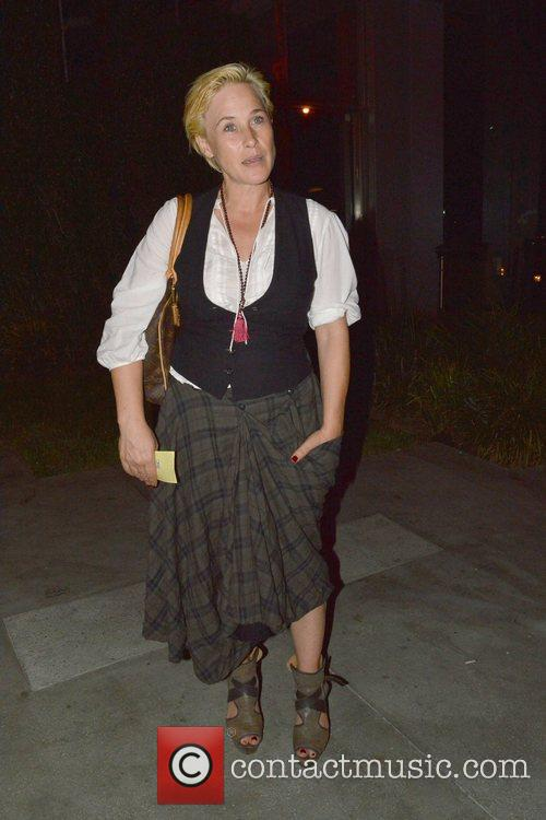 Patricia Arquette is seen after having dinner at...