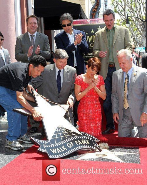 Ray Romano, Patricia Heaton and Walk Of Fame 4