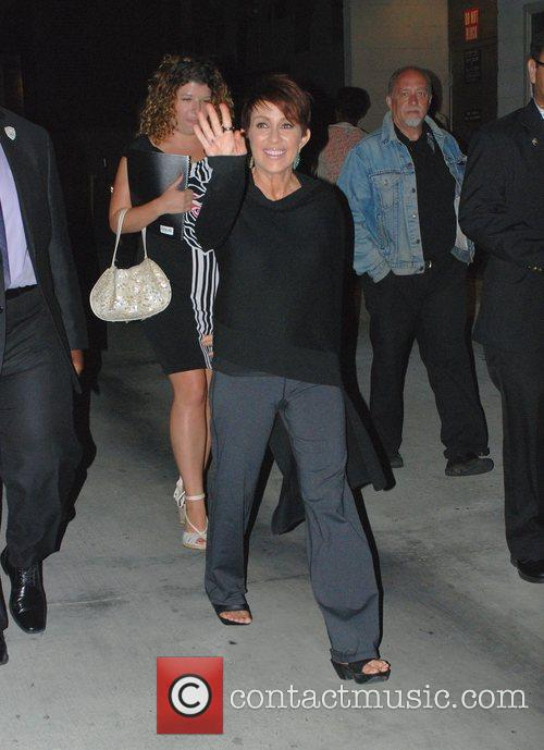 Patricia Heaton outside the studios for 'Jimmy Kimmel...