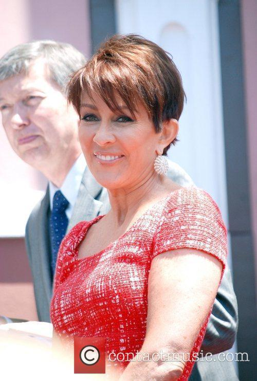 Patricia Heaton  is honored with a Hollywood...