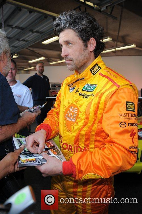 patrick dempsey appears during testing for rolex 3673426