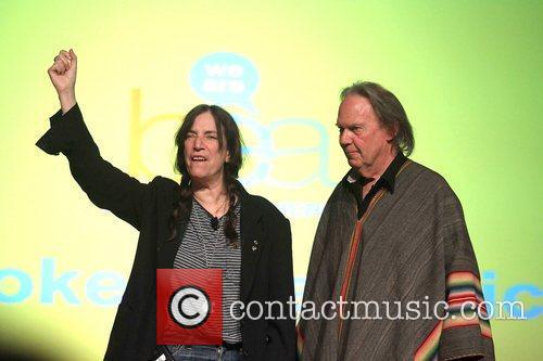 Patti Smith and Neil Young 2