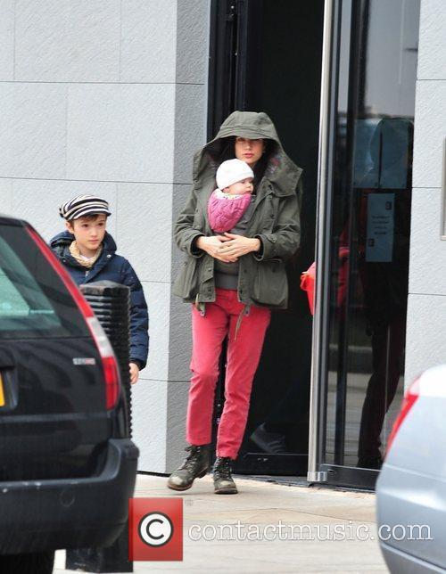 Paul Bettany and Jennifer Connelly out and about...