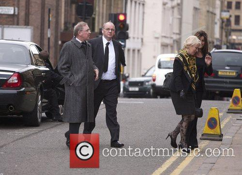 The funeral of Paul McBride QC, held at...