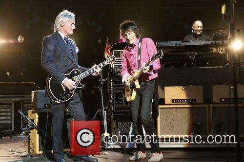 Sir Paul McCartney was joined on stage by...