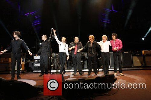 Sir Paul Mccartney, Albert Hall, Paul Weller, Roger Daltrey, Ronnie Wood and Royal Albert Hall 1