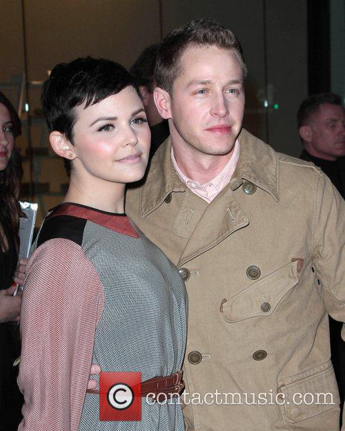 Newlyweds Ginnifer Goodwin and josh Dallas