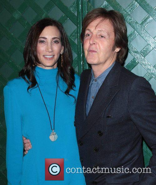 Sir Paul Mccartney and Nancy Shevell 6