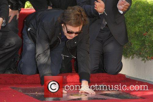 Sir Paul McCartney and Star On The Hollywood Walk Of Fame 2
