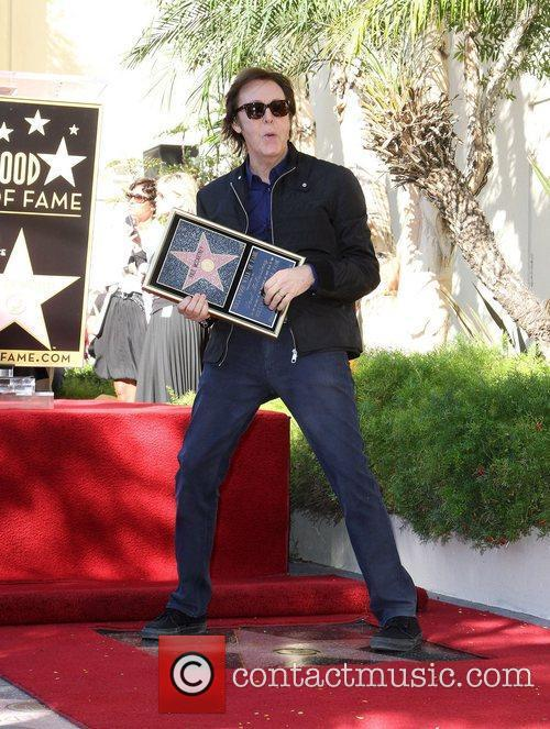 Sir Paul McCartney and Star On The Hollywood Walk Of Fame 4