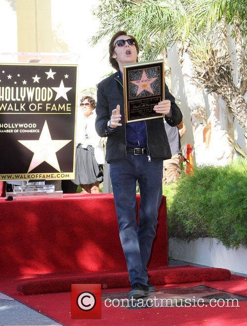 Sir Paul McCartney and Star On The Hollywood Walk Of Fame 5