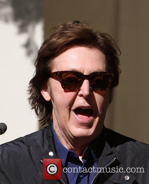 Sir Paul McCartney and Star On The Hollywood Walk Of Fame 12